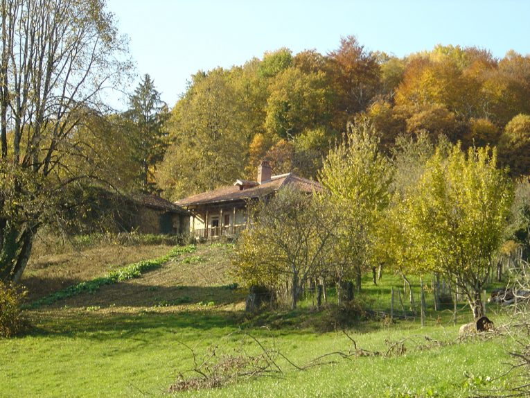 The house from the fields