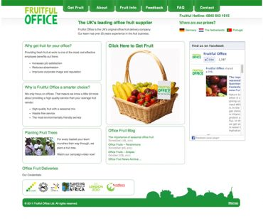 Fruitful office wordpress site