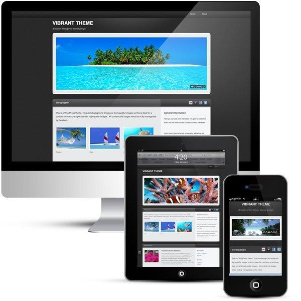 Wordpress custom theme design and development