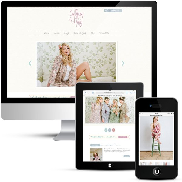 Jumping Bunny Online Shop, WordPress eCommerce