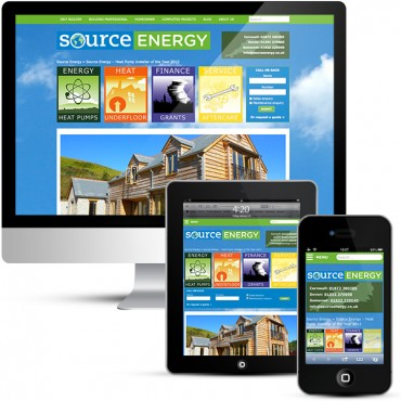 Source Energy WordPress Designer mobile responsive website