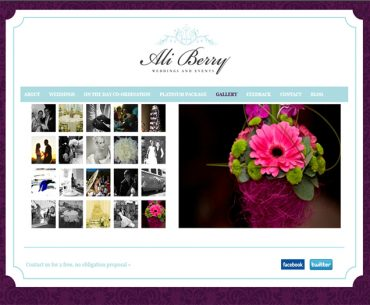 Ali Berry Weddings and Events