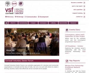 Cornwall VSF Wordpress site
