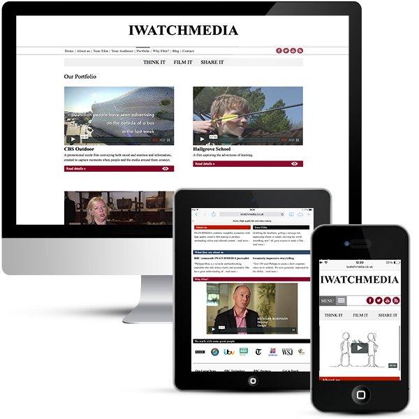 iwatchmedia WordPress design