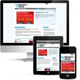 Newport Africa Corporate Web Design