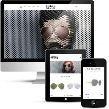 eCommerce Store - Finest Seven Designer Sunglasses