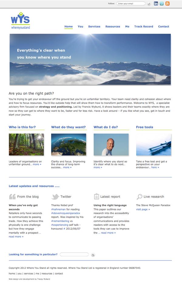 Content Managed Website, WordPress CMS