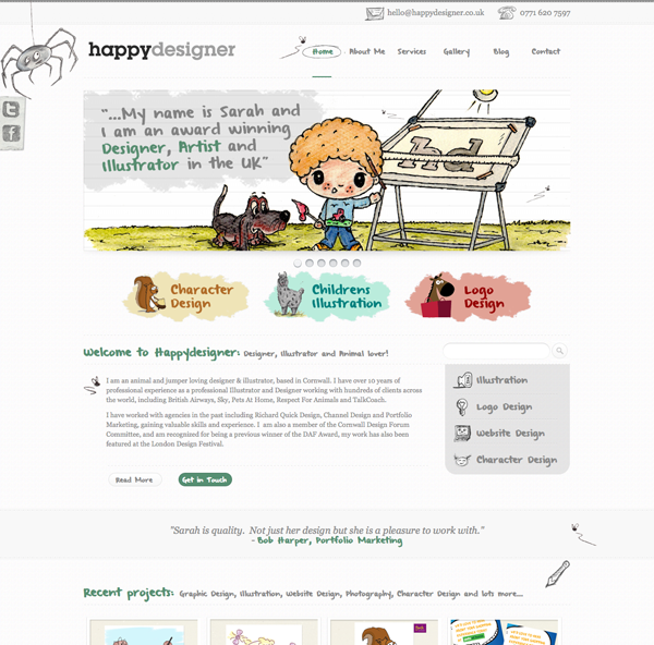 Happy Designer WordPress Development Project