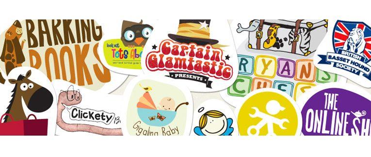 Happy designer illustrations