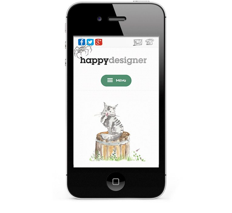 Mobile responsive design for Smartphones and iPhones