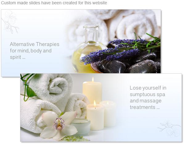 Custom made images slides