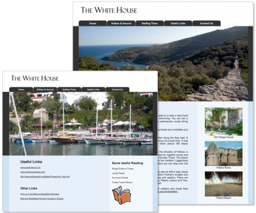 Website for pension in Turkey