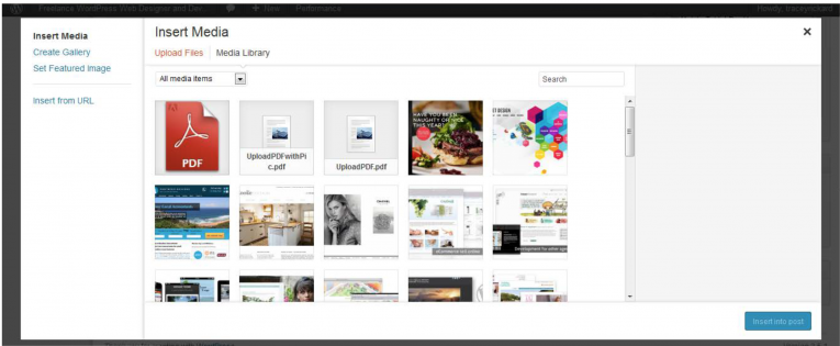 Adding a new image to a post in WordPress