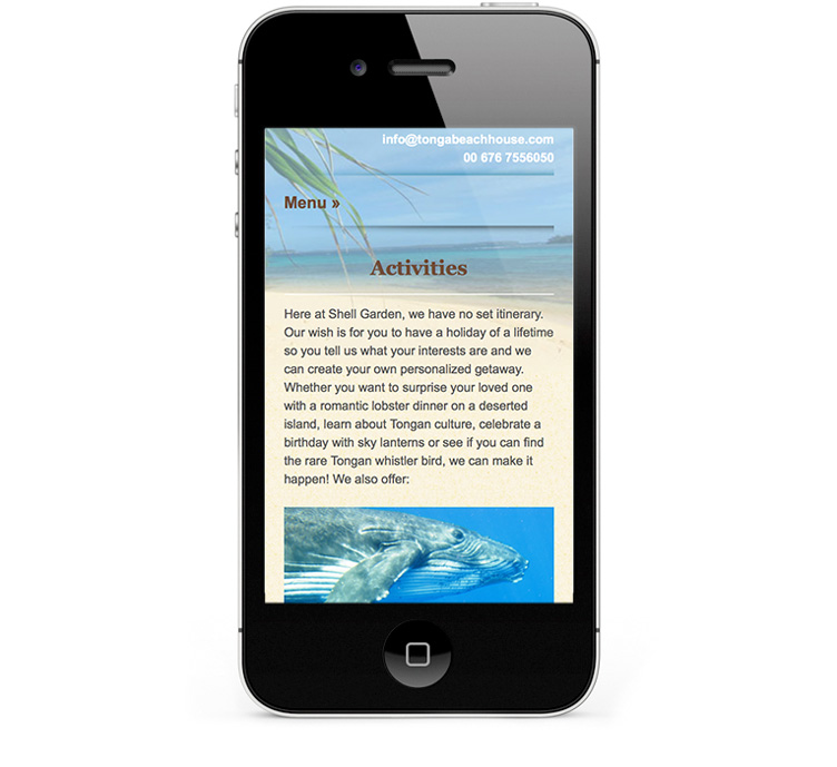 Custom WordPress Design, mobile friendly