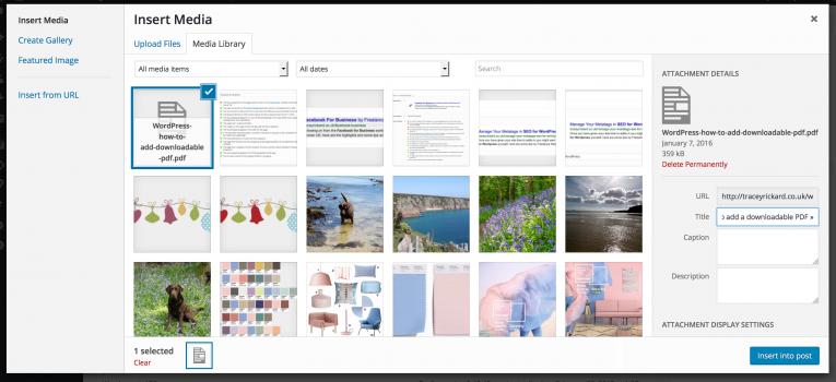 Uploading your PDF file