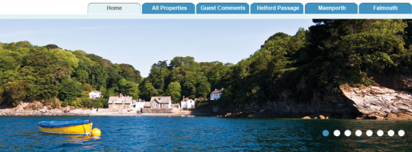 Holiday Cornwall website image