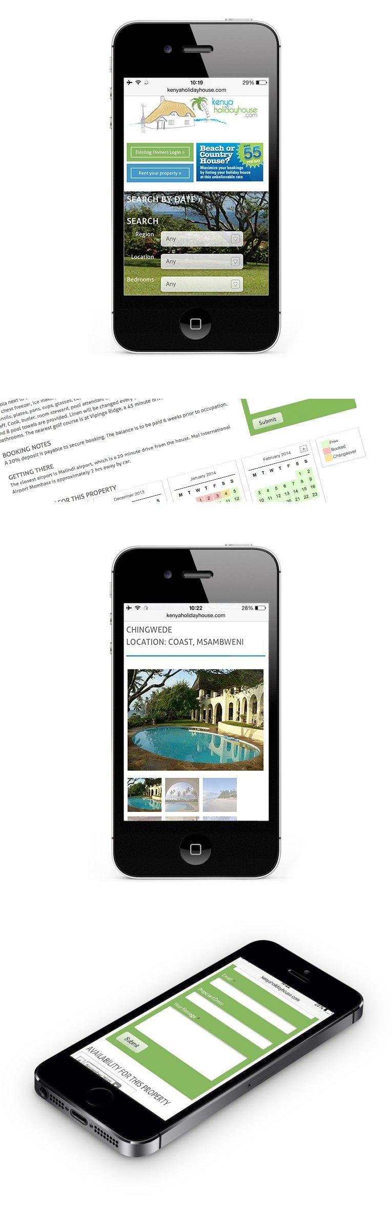 Mobile Responsive design by website designer Cornwall