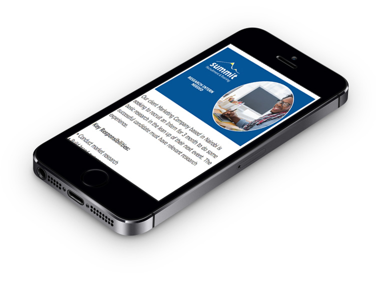 Mobile webdesign and development