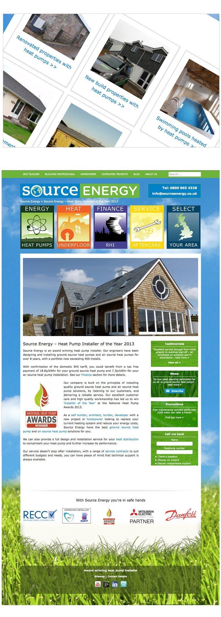 Fully Responisve Website by Web Designer Cornwall