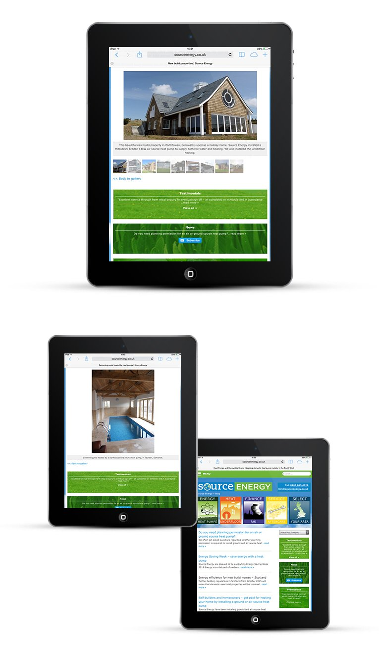 Mobile and Google friendly website design Cornwall
