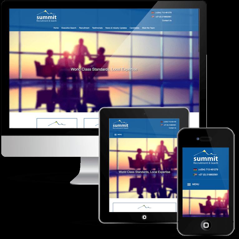Custom WordPress design, Recruitment job board