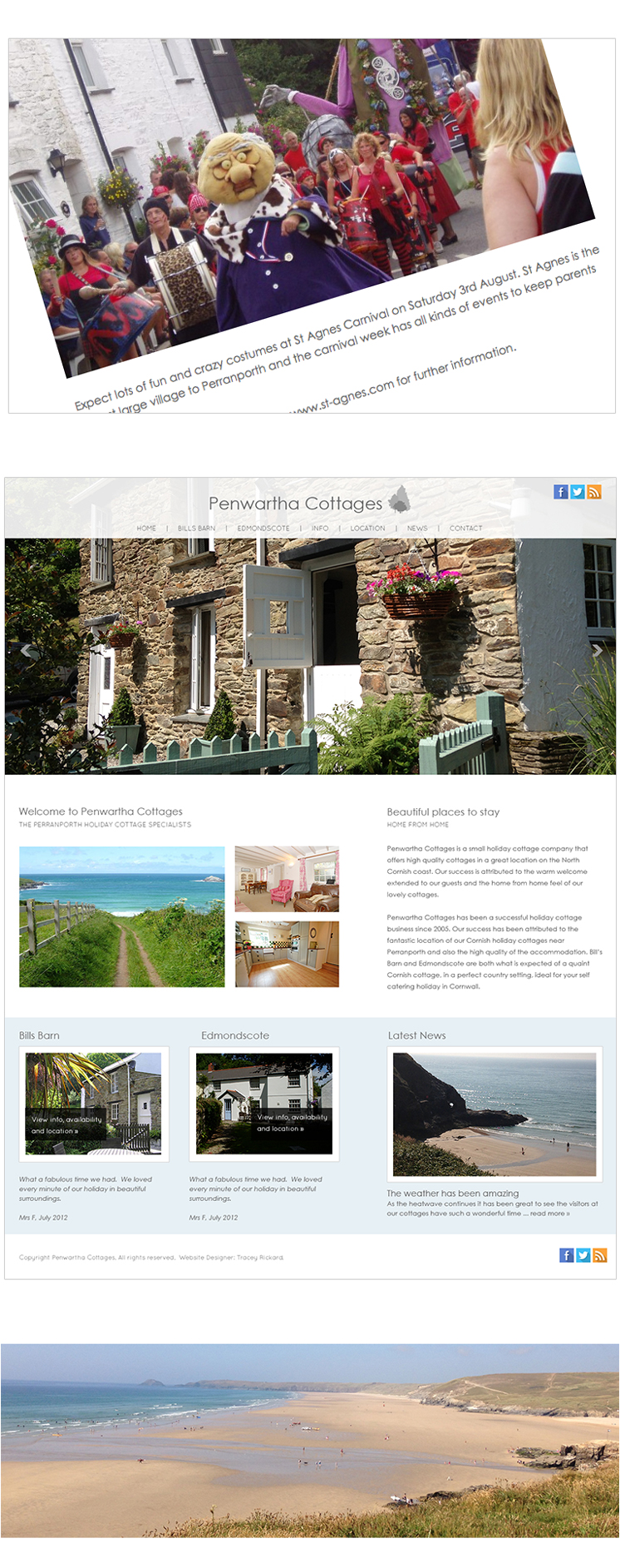 Website design Cornwall