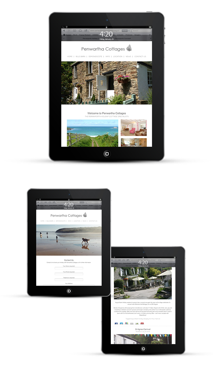 Website designer Cornwall