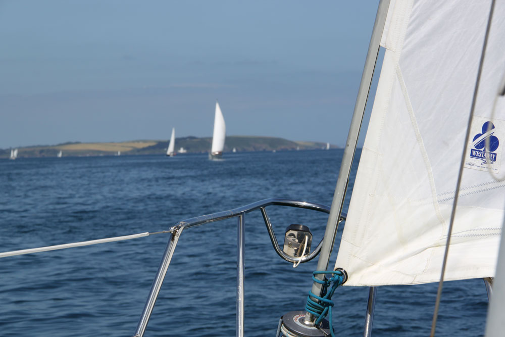 Sailing in Cornwall