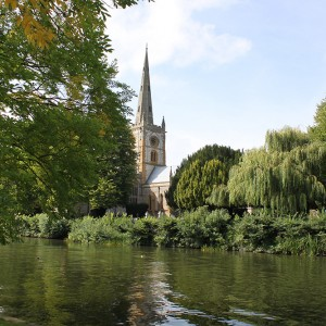 Holy Trinity Church in Stratford-upon-Avon