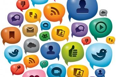 Web design and social media