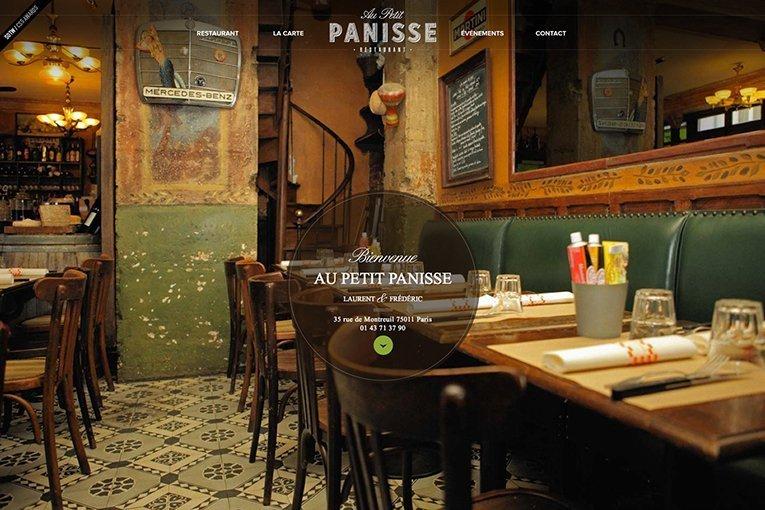 Au Petit Panisse - freelance web designers