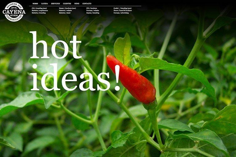 Cayena Hot Ideas - freelance branding studio