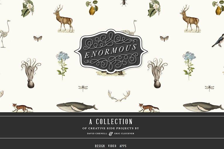 Enormous - freelance web design inspiration