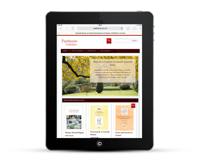 WordPress Design, mobile repsonsive for publishers