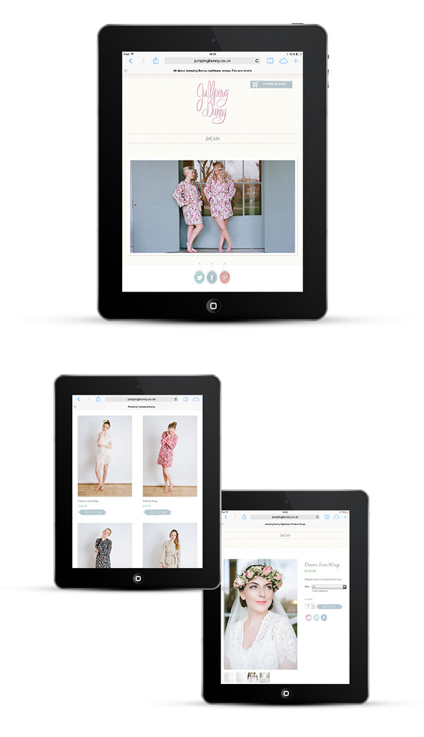 Mobile responsive eCommerce web design