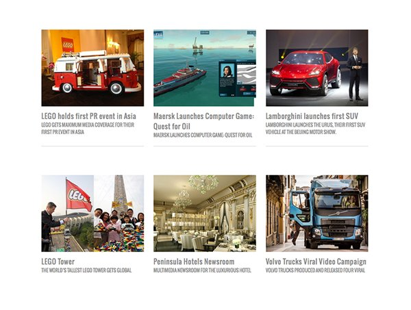 NewsMarket clients, include Adidas and Volvo