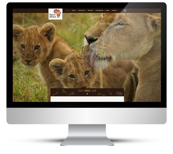 New Website Design for GoWild Africa Safari Experience