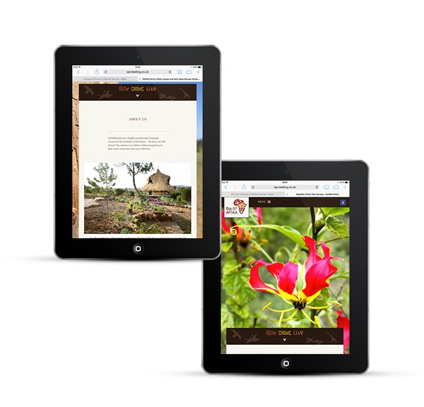 Webdesign to work on all devices