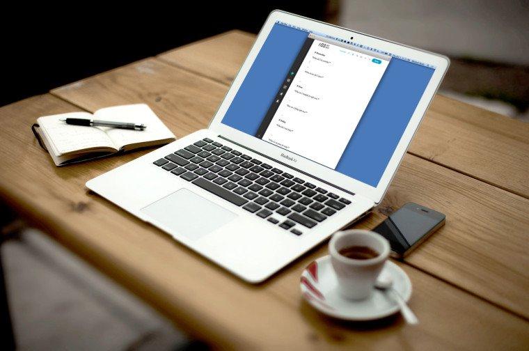 Computer to write posts