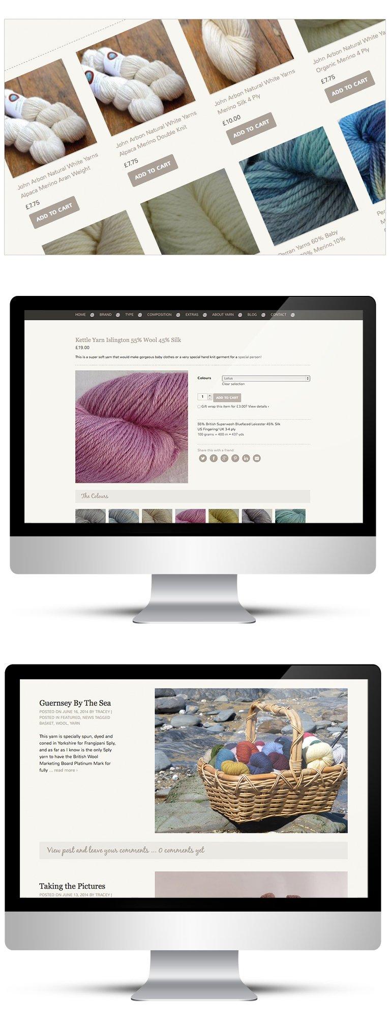 Reponsive design - desktop