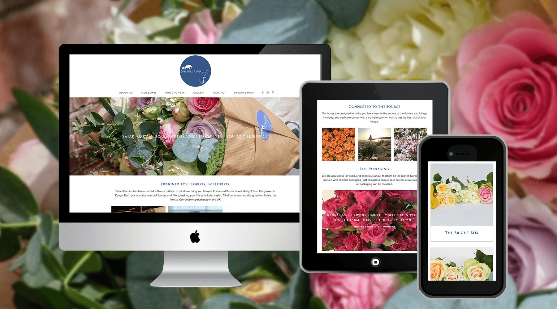 Safari Garden International Flower Distributor