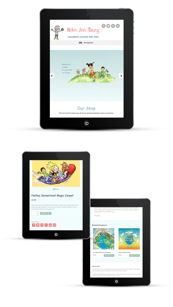 Mobile Responsive Design iPad view