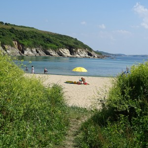 A day at Maenporth Beach