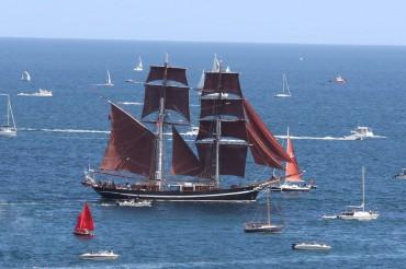 Falmouth Tall Ships Parade of Sail