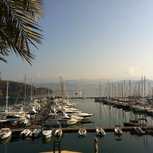 Fethiye Marina in the Morning Sun