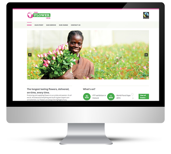 Custom WordPress Design for the Flower Hub