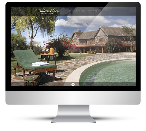WordPress Design for Mukima House