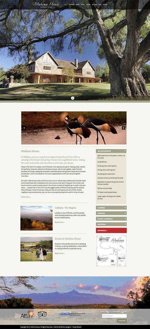 Custom WordPress design CMS and Blog