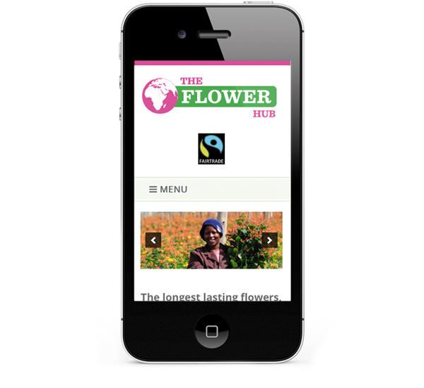 Website design for iPhone and Smartphones