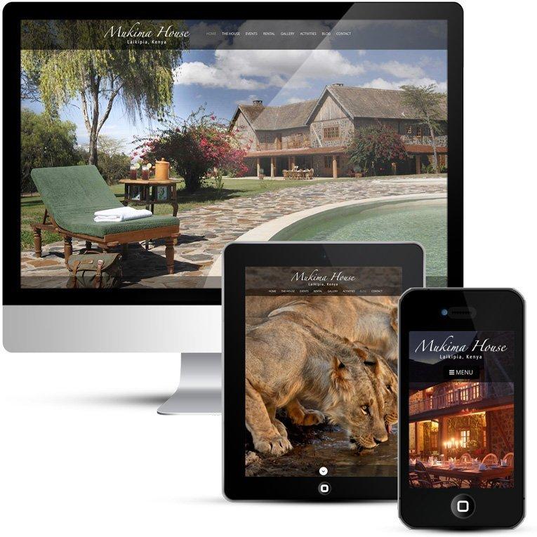 Custom WordPress Design for Mukima House